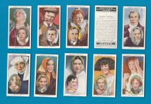 Collectable Cigarette cards Actors Natural & Character studies,
